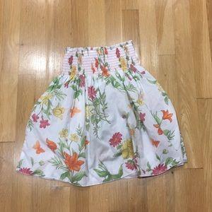 Pumpkin Patch sz 6 floral tropical skirt; stylish